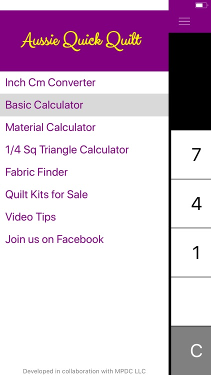 Quick Quilt Calculator screenshot-5