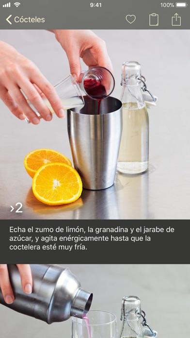 Screenshot for Foto Recetario – Cócteles in Dominican Republic App Store