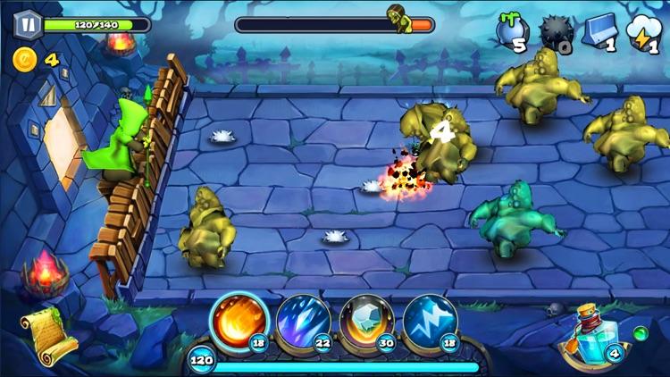 Magic Siege - Defender HD screenshot-4