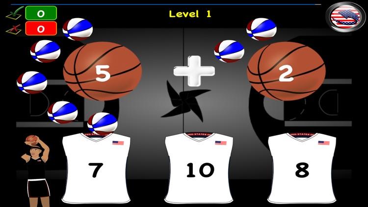 Games Math Basket Learn