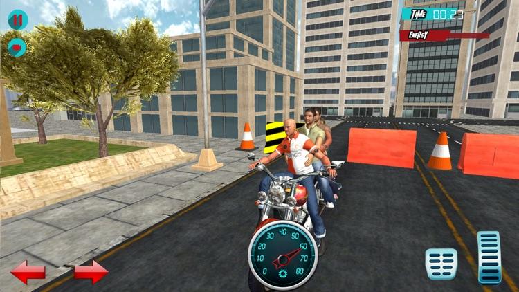 Bike Racing: Taxi Driver