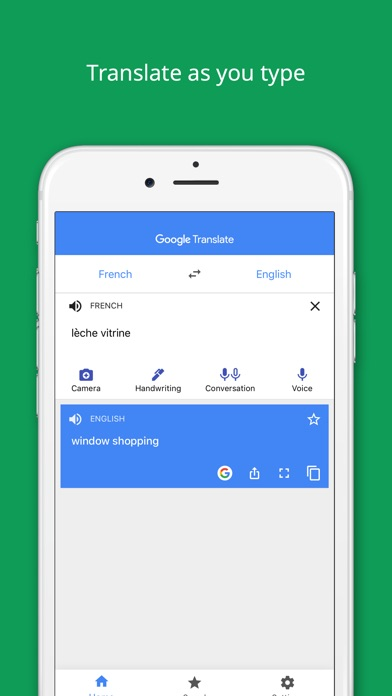 Screenshot for Google Translate in India App Store