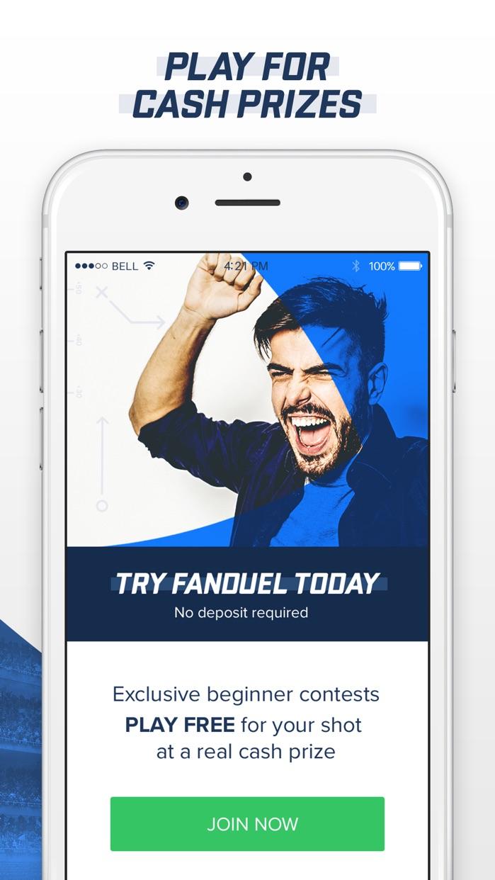 FanDuel - Daily Fantasy Sports Screenshot