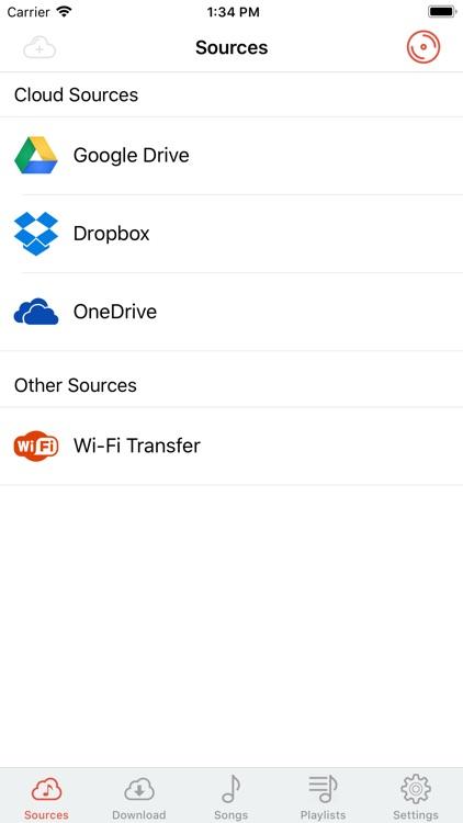 Cloud Music Player - Listener