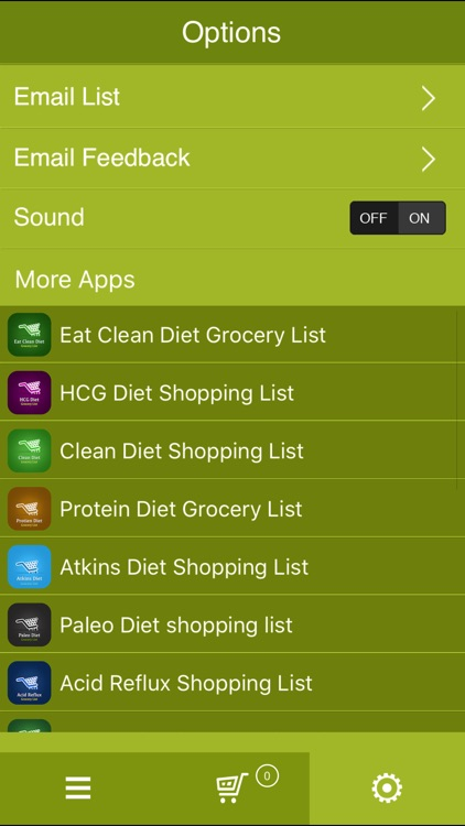 Healthy Kidneys Grocery List screenshot-4