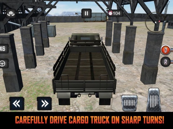 Mission Army Truck Driving screenshot 4