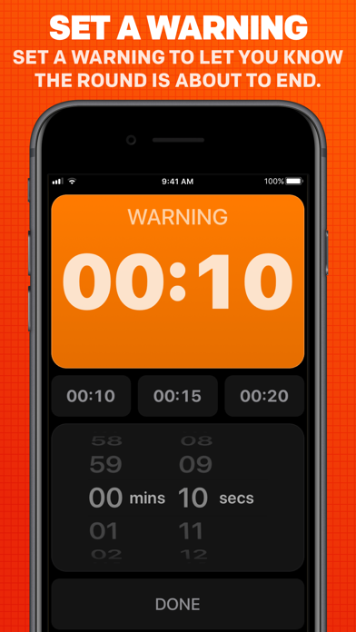 Boxing Timer Pro Round Timer review screenshots