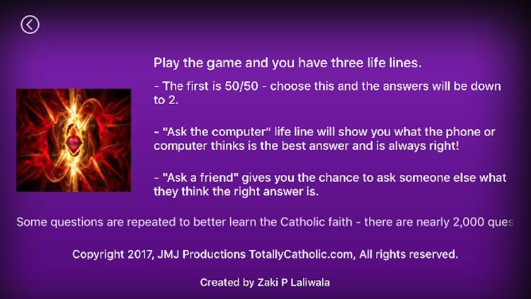 Totally Catholic Trivia 2.0 screenshot-4