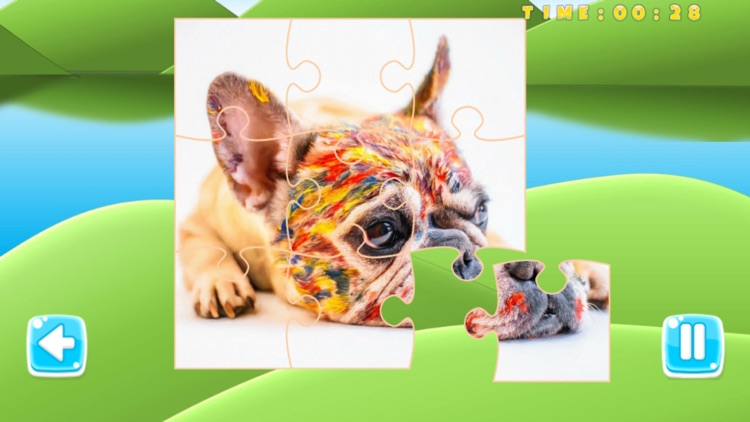 Puzzle Pets Dogs Cats Game screenshot-3