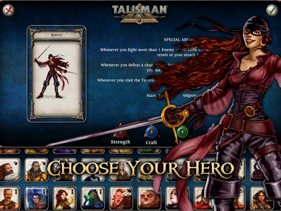 Screenshot #2 for Talisman: Digital Edition