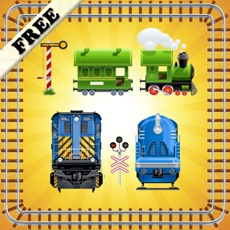 Activities of Toy Train Puzzles for Toddlers