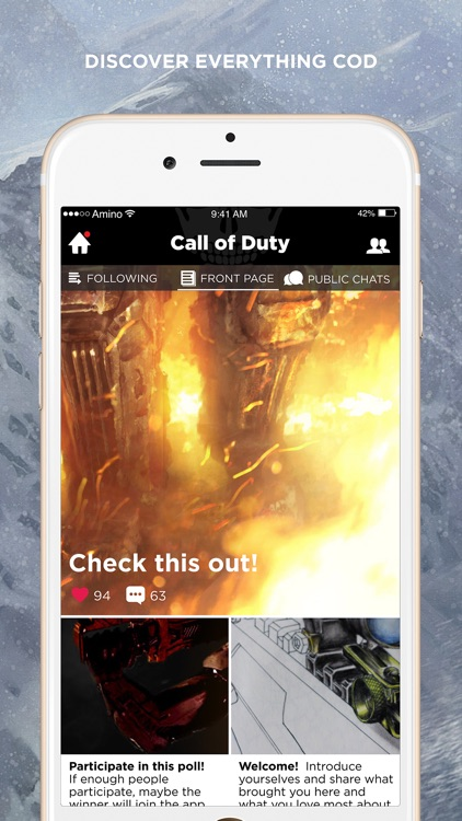 Amino for Call of Duty