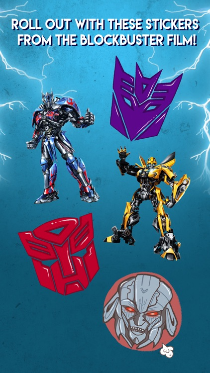 Official Transformers Stickers