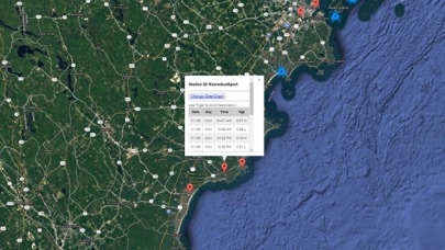 Maine Tide Chart & Weather Screenshot