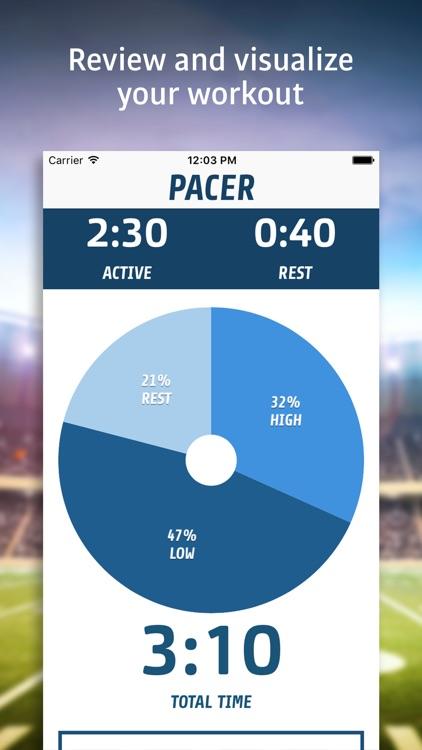 Pacer - Interval Fitness Timer screenshot-4