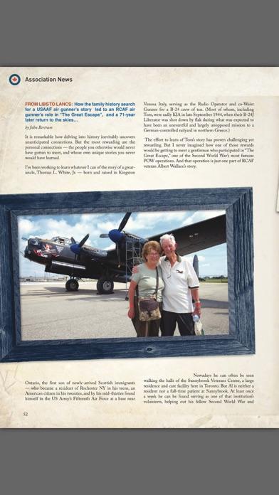 Revue Airforce Magazine screenshot two