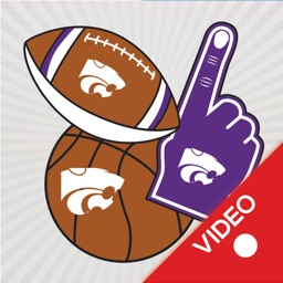 Kansas State Wildcats Animated Selfie Stickers