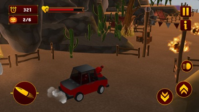 Scary Halloween Shooting Car screenshot 3