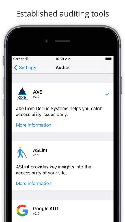 Mobile Web Accessibility Check screenshot-3