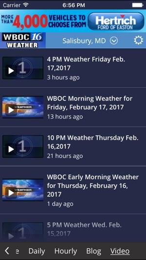 WBOC WX na App Store