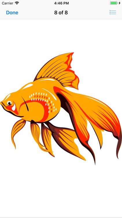 Glorious Goldfish Stickers screenshot-7