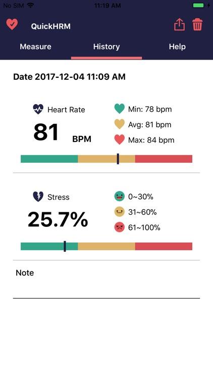 Quick Heart Rate Monitor screenshot-3