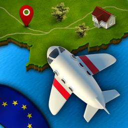 Ícone do app GeoViagem Europa Pro