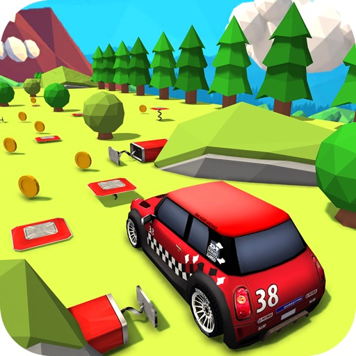 Download Sports Car Stunt Driving free for iPhone, iPod and iPad