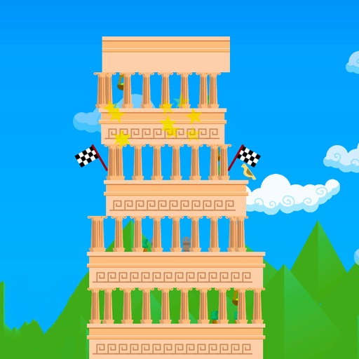 Stack Tower Game - build the tallest tower