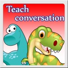 Dino&Friend Teach Conversation icon