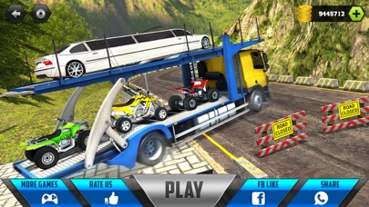 Car Transporter Cargo Truck