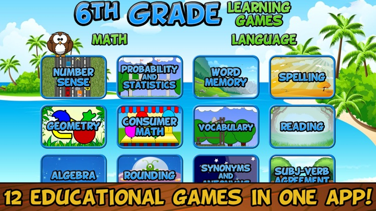 Sixth Grade Learning Games SE