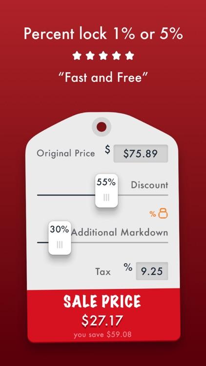 Sale Price Discount Calculator screenshot-3