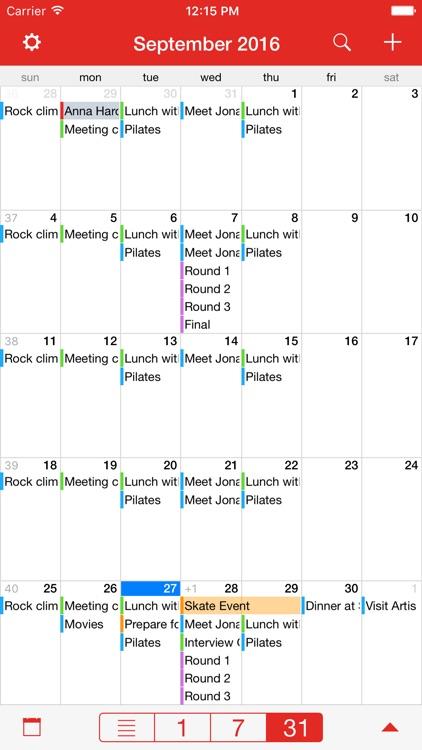 CalAlarm 2 - calendar alarm screenshot-7