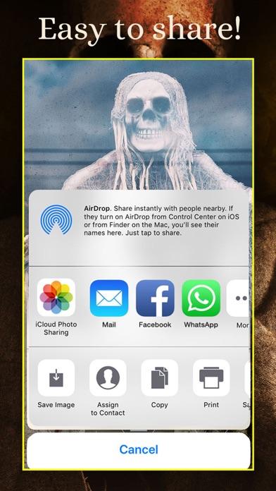 SKULLS Gothic Wallpaper Maker screenshot 5