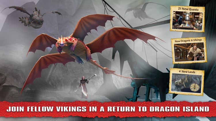 School of Dragons: How to Train Your Dragon screenshot-3