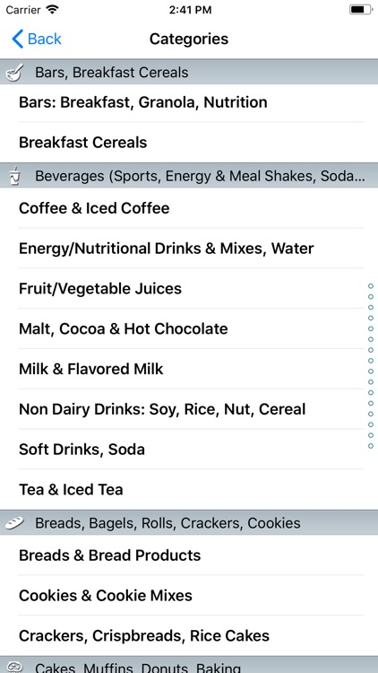 CalorieKing Food Search screenshot-3
