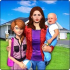 Superstar Single Mom and Kids icon