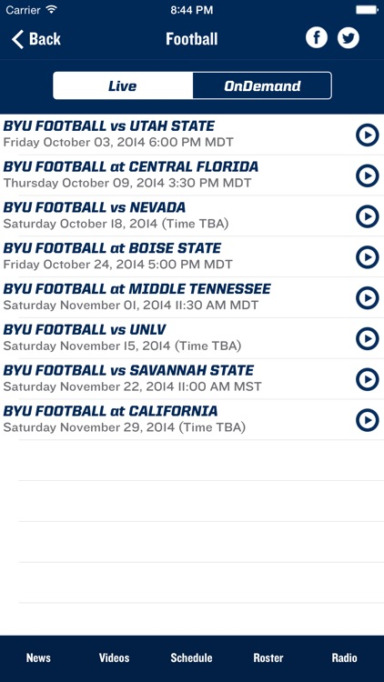 BYU Cougars screenshot-4