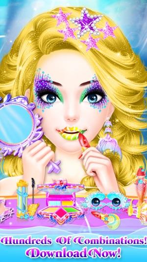 Mermaid Princess Makeup Makeover - Princess Games! 4+