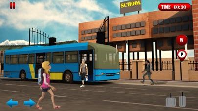 校车驾驶模拟器2017年:城市公交车司机 App 截图