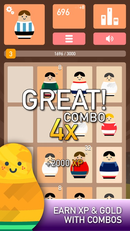 Matryoshka Puzzle Game screenshot-3