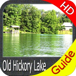 Old Hickory Lake Tennessee HD - GPS fishing charts