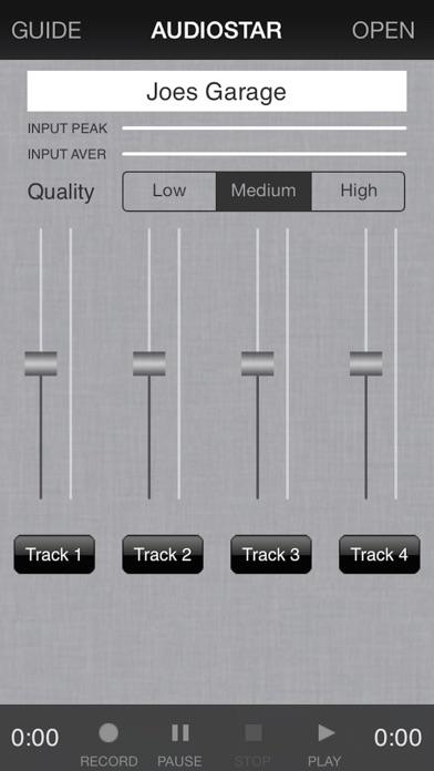 Audiostar Multitrack Mixer
