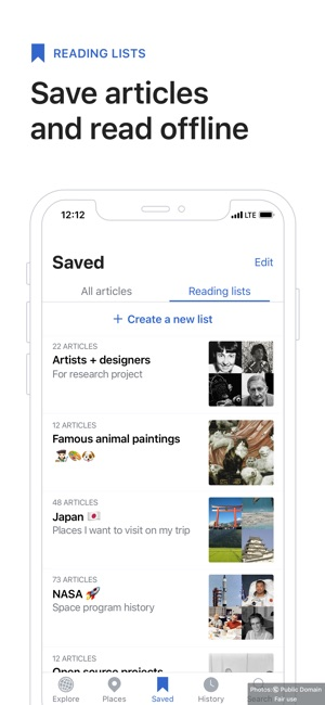Wikipedia on the App Store