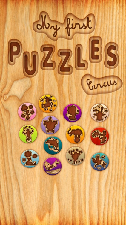 My first puzzles: Circus
