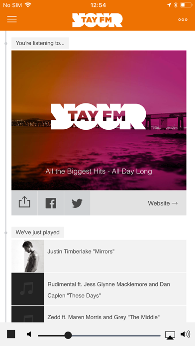 Radio Tay screenshot one