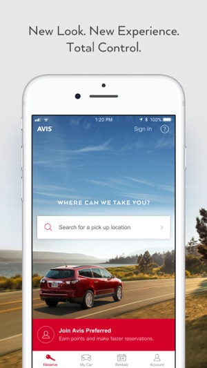 Avis - Car Rental on the App Store