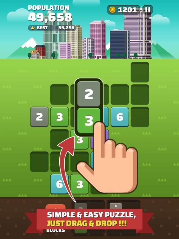 My Little Town : Number Puzzle для iPad