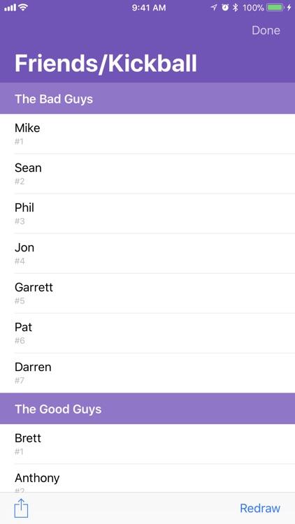 Names in a Hat screenshot-4